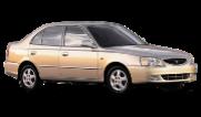 Hyundai Accent II (+ТАГАЗ) 2000-2012