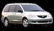 Mazda MPV II (LW) 1999-2006